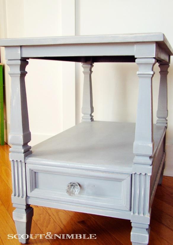 Paris Grey painted furniture