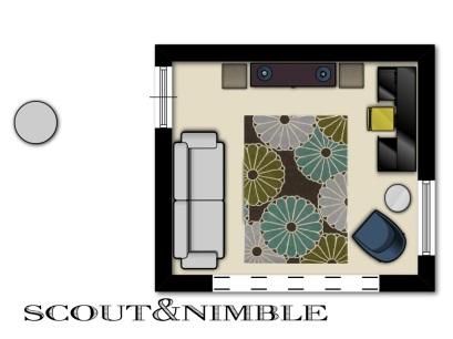 room design, furniture layout