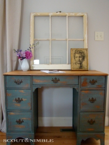 Milk paint makeover