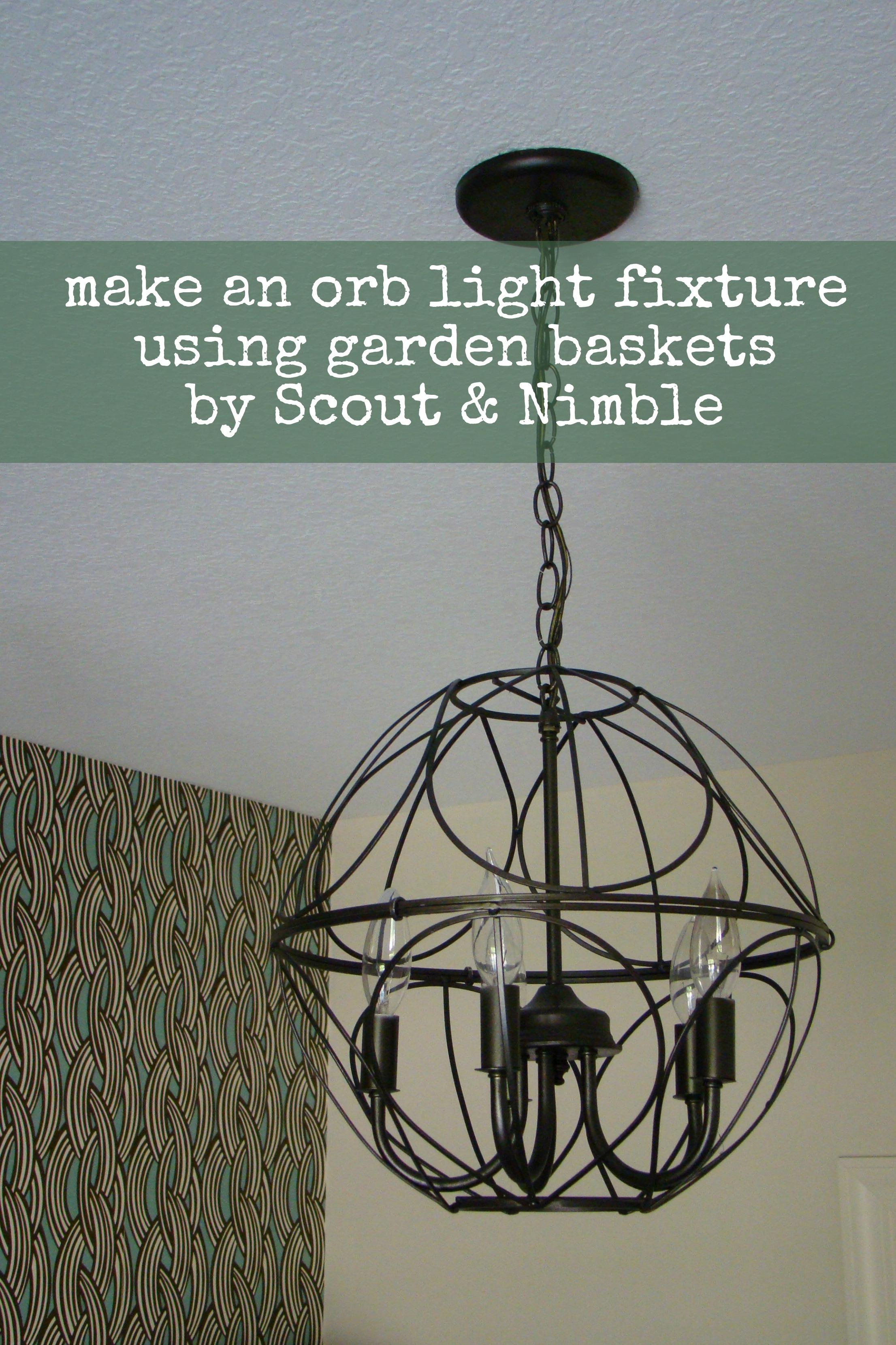 Orb chandelier scout nimble diy light fixture aloadofball Images